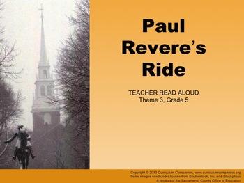 Houghton Mifflin Reading Gr 5 Paul Revere's Ride General C