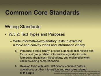 Houghton Mifflin Reading Gr 5 Writing: A Research Report Common Core Standards