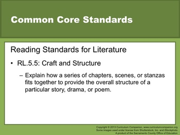 Houghton Mifflin Reading Gr 5 Writing: Personal Narrative Common Core Standards