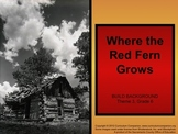 Houghton Mifflin Reading, Gr. 6, Where the Red Fern Grows