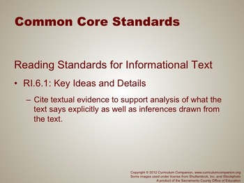 Houghton Mifflin Reading Gr 6 Writing: Personal Essay Common Core Standards
