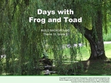 Houghton Mifflin Reading, Grade 1, Days with Frog and Toad Common Core Standards