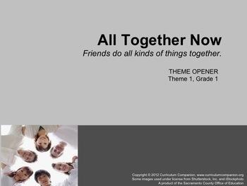 Houghton Mifflin Reading Grade 1 Theme 1 All Resources Com