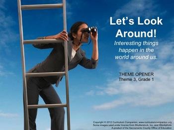 Houghton Mifflin Reading Grade 1 Theme 3 All Resources Com