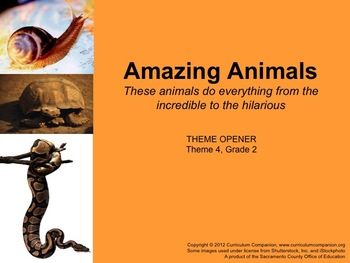 Houghton Mifflin Reading Grade 2 Theme 4 All Resources Common Core Standards