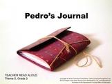 Houghton Mifflin Reading, Grade 3 Pedro's Journal Common Core Standards