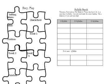 Houghton Mifflin Reading, Grade 3, Theme 1 activity booklets bundle