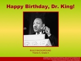 Houghton Mifflin Reading, Grade 4, Happy Birthday Dr. King Common Core Standards