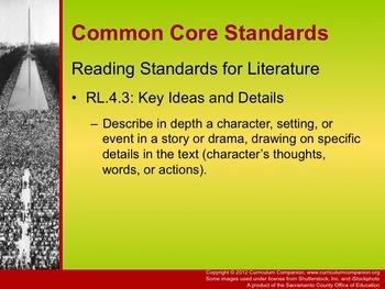 Houghton Mifflin Reading, Grade 4, Happy Birthday Dr. King Common Core Standards
