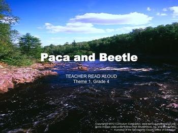 Houghton Mifflin Reading, Grade 4 Paca and Beetle Common Core Standards