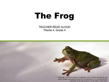 Houghton Mifflin Reading Grade 4 Theme 4 All Resources Common Core Standards