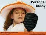 Houghton Mifflin Reading, Grade 4, Writing: Personal Essay Common Core Standards