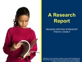 Houghton Mifflin Reading, Grade 4, Writing: Research Paper Common Core Standards