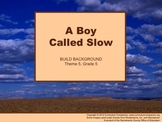 Houghton Mifflin Reading, Grade 5, A Boy Called Slow Commo
