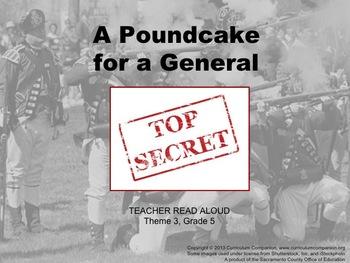 Houghton Mifflin Reading Grade 5 A Poundcake for a General