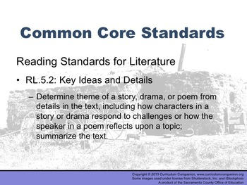 Houghton Mifflin Reading Grade 5 Dakota Dugout Common Core Standards