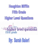 Houghton Mifflin Reading Grade 5 Higher Level Questions