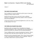 Houghton Mifflin Reading Grade 5 Higher Level Questions Theme 6