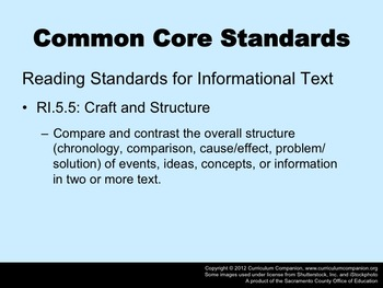 Houghton Mifflin Reading Grade 5 Hurricanes Common Core Standards