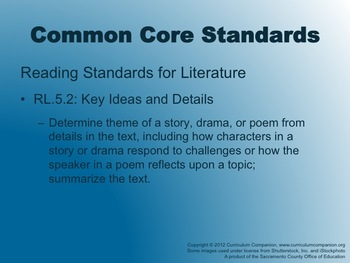 Houghton Mifflin Reading Grade 5 Making Waves! Common Core Standards