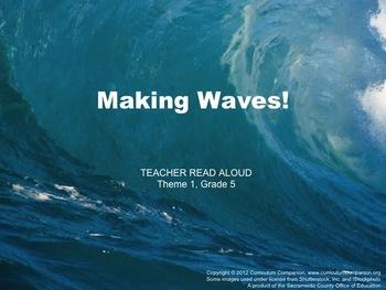 Houghton Mifflin Reading Grade 5 Making Waves! Common Core