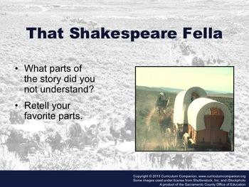 Houghton Mifflin Reading Grade 5 That Shakespear Fella Common Core Standards