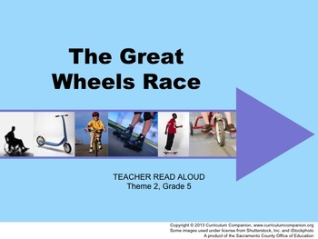 Houghton Mifflin Reading Grade 5 The Great Wheels Race Com