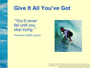 Houghton Mifflin Reading, Grade 5, Theme 2: Give It All You've Got!