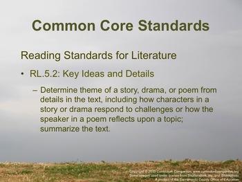 Houghton Mifflin Reading Grade 5 Theme 4 Person to Person Common Core Standards