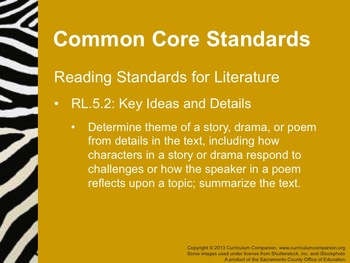 Houghton Mifflin Reading Grade 5 Theme 6 Animal Encounters Common Core Standards