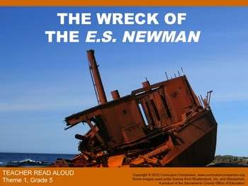 Houghton Mifflin Reading Grade 5 Wreck of ES Newman Common Core Standards