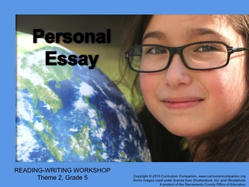Houghton Mifflin Reading Grade 5 Writing: Personal Essay C