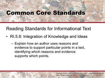 Houghton Mifflin Reading Grade 5 Writing: Persuasive Essay Common Core Standards