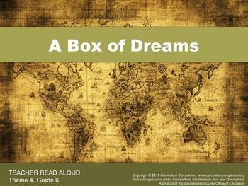 Houghton Mifflin Reading, Grade 6, A Box of Dreams Common