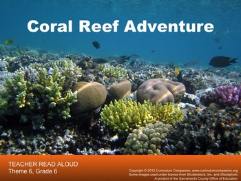 Houghton Mifflin Reading, Grade 6, Coral Reef Adventure Common Core Standards