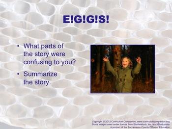 Houghton Mifflin Reading, Grade 6, E!G!G!S! Common Core Standards