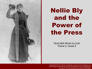 Houghton Mifflin Reading, Grade 6, Nellie Bly ... Common Core Standards