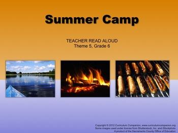 Houghton Mifflin Reading, Grade 6, Summer Camp Common Core Standards