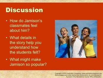 Houghton Mifflin Reading, Grade 6, The Jamison Way Common Core Standards
