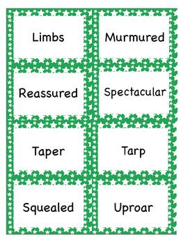 Houghton Mifflin Series Theme 2 Vocabulary Cards