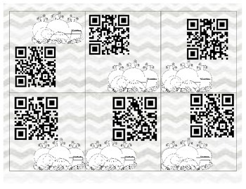 Houghton Mifflin Sight Word QR Codes