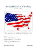 Houghton Mifflin Social Studies: U.S. History Ch. 6 Overview