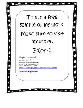 Houghton Mifflin Spelling Sample Packet 1st grade