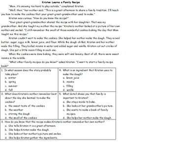 "Houghton Mifflin ""The Stranger"" Theme 3.1 Worksheet Pack"