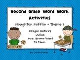 Houghton Mifflin Theme 1 Second Grade Word Work