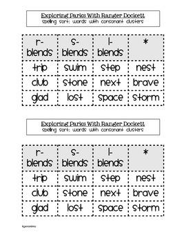 Houghton Mifflin Theme 2 Spelling Word Sorts