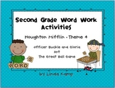 Houghton Mifflin Theme 4 Second Grade Word Work