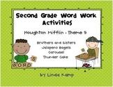 Houghton Mifflin Theme 5 Second Grade Word Work