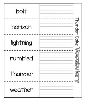 Houghton Mifflin Theme 5 Vocabulary