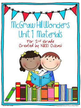 McGraw Hill Wonders Unit 1 Materials